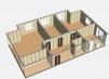3-к квартира, 104.5 м², 2/5 эт маленькая