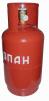 Баллон пропановый 12 литров, новый маленькая