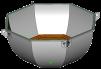 Банный чан 8х6 (нержавейка с ушками) маленькая