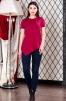 Блуза с коротким рукавом реглан маленькая