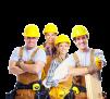 Бригада строителей маленькая