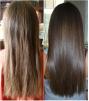 Кератиновое выпрямление и восстановление волос ОМСК маленькая