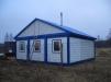 Дачный домик модульный из блок-контейнеров маленькая