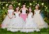 Детские Нарядные платья Для девочек маленькая