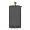 Дисплей HTC Desire 320 с тачскрином (черный) маленькая