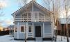 Дом  зимний со всеми коммуникациями в  Верховье Жуковского района маленькая