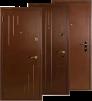 Двери металлические сейефного типа маленькая