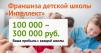 """Франшиза сети детских школ скорочтения """"Интеллект"""" маленькая"""