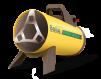 Газовая тепловая пушка Ballu BHG-10M / 10кВт / до 100кв.м (В НАЛИЧИИ) маленькая