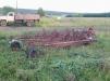 Грабли поперечные тракторные маленькая