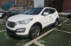 Hyundai Santa Fe 2013 год (белая) маленькая