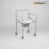 Инвалидная коляска с биотуалетом маленькая