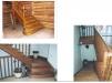 Изготовление,установка лестниц из дерева маленькая