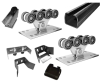 Качественные комплекты консольной фурнитуры для ворот до 400-800 кг маленькая