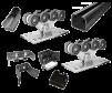 Качественные комплекты консольной фурнитуры для ворот до 400 кг маленькая