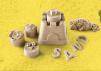 Кинетический песок (новый набор с формочками) маленькая