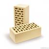Кирпич керамический облицовочный маленькая