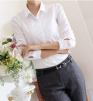Классическая белая рубашка, р. 44-46 маленькая