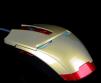 Классная игровая мышка с дизайном Iron man маленькая
