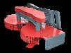 Косилка-кусторез (навесное оборудование) маленькая