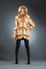 Лия куртка лиса, капюшон арт № 300-501 маленькая