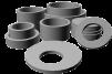 Марусино  кольца жби для септиков и колодцев крышки и люки маленькая