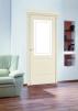 Межкомнатные двери в белой эмали комплект маленькая