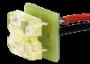 Микростробоскоп ELF 12В белый 10 шт маленькая
