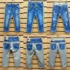 Модная джинсовая одежда для детей от 2 до 15 лет маленькая