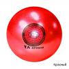 Мяч для художественной гимнастики Sprinter T12 с блёстками маленькая