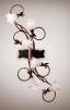 Новая люстра Венеция (6ламп) стиль флористика маленькая
