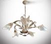 Новая потолчная люстра в стиле флористика (5 ламп) маленькая