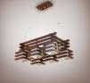 Новая потолочная деревянная люстра Амстердам маленькая