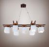 Новая потолочная люстра в стиле прованс 7 ламп маленькая
