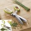 Ножницы для нарезки зелени (5 лезвий) маленькая