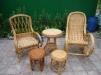 Плетенная мебель из лозы ручная работа маленькая