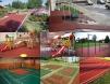 Покрытие из резиновой крошки для спортивных и детских площадок, входных групп, лестниц маленькая