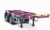 Полуприцеп - контейнеровоз автомобильный ЧМЗАП 99858, 99874, г/п 24 т маленькая