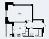 Продается 1-но комнатная квартира, ул. В.Лосева, 23 маленькая