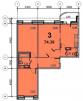 Продается 3-х комнатная квартира  Егорьевск маленькая