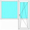 Продается пвх стеклопакет балкон маленькая