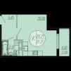 Продам 1-ком квартиру в новостройке маленькая