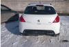 Продам бампер Peugeot пежо 308 задний белый маленькая