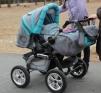 Продам детскую коляску трансформер маленькая