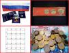 Продам монеты, альбомы для монет, аксессуары маленькая