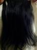 Продам Натуральные волосы на заколках. Цвет черный. 55см-60см маленькая