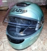 Продам шлем интеграл Lazer Tornado GL, размер XXS (51-52), салатовый металлик маленькая