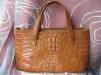 Продам сумку из кожи крокодила маленькая
