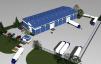 Продаётся промышленно-складское  здание 1500 м .сдача  3 квартал 2015г. МО Сходня .микрорайон  Соврасово маленькая
