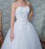 Продаю свадебное платье (+ожерелье, фата, туфли) недорого маленькая